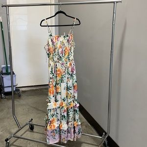 NWT Boutique Romantic Gypsy Floral Dress